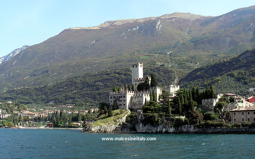The Scaligero castle at Malcesine
