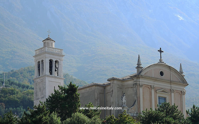 The church of St Stephen at Malcesine