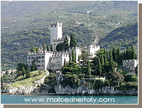 Scaliger Castle at Malcesine